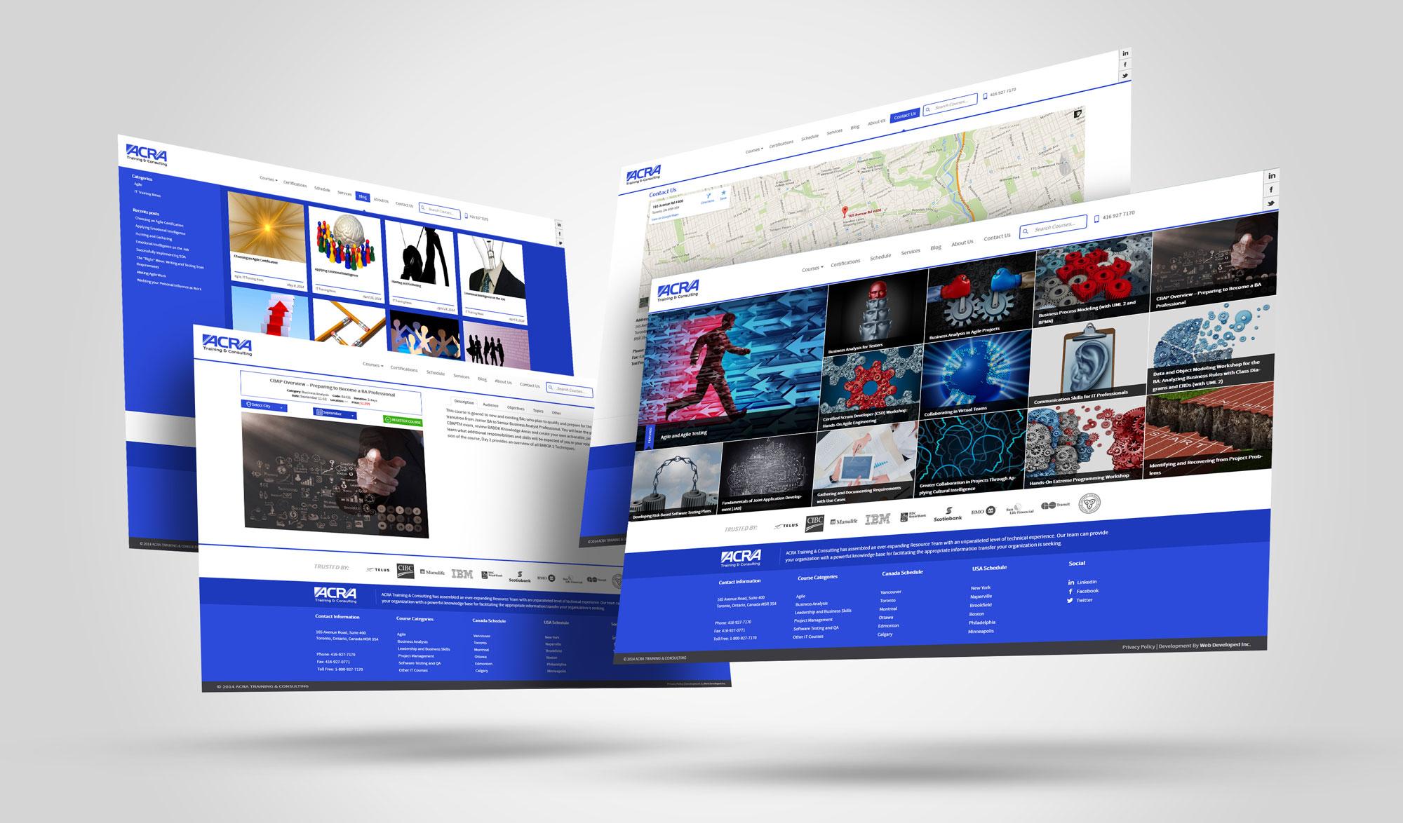 ACRA-displays